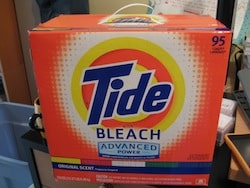 Didn't believe me about Tide?